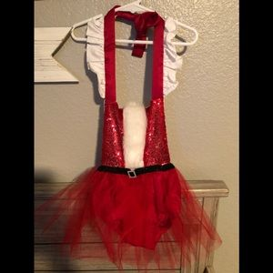 Girl Christmas Romper Size 12 Months